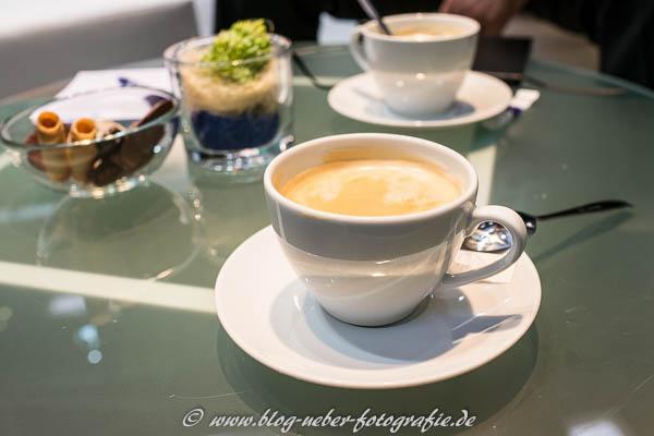 Kaffee auf der eCarTec 2015