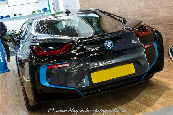 BMW i8 auf der eCarTec