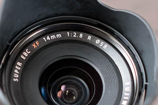 Fujinon XF 14mm 1:2,8