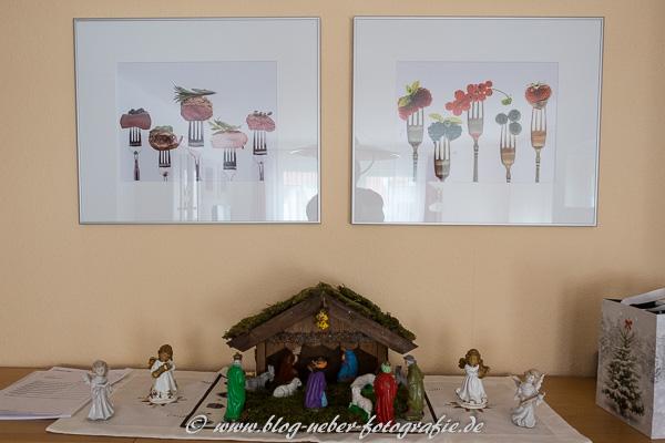 Neue Fotos im Esszimmer