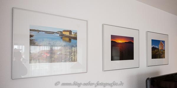 Fotos von Norwegen im Wohnzimmer