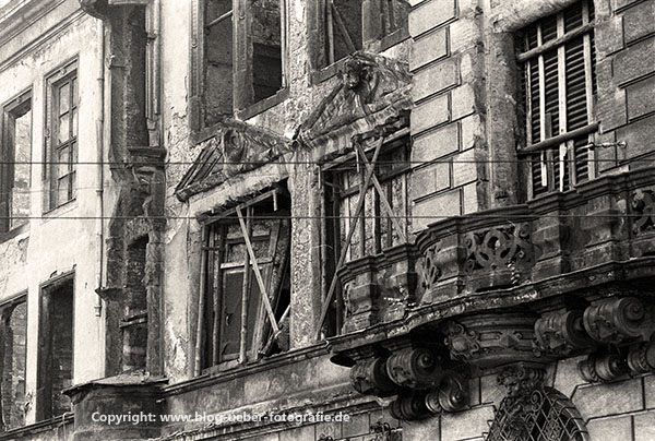 Dresden 1985 - Bauruinen der Altstadt