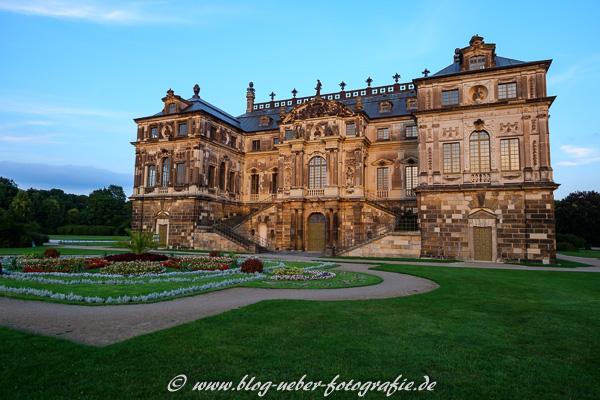 Palais im großen Garten von Dresden