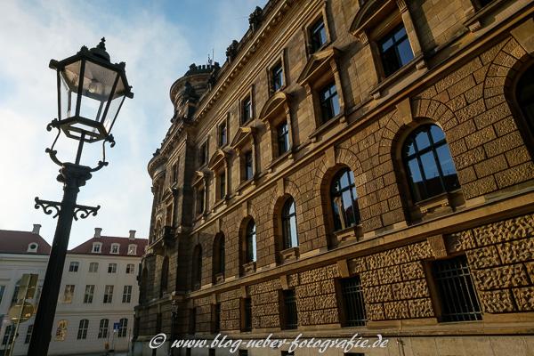Historisches Wohnhaus in der Rampische Straße in Dresden