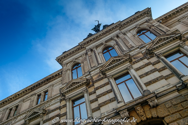 Albertinum ehemalige Waffen-Arsenal in Dresden