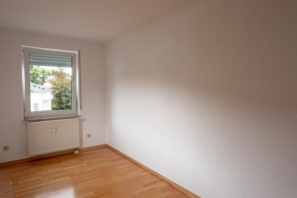 Zimmer frisch gestrichen