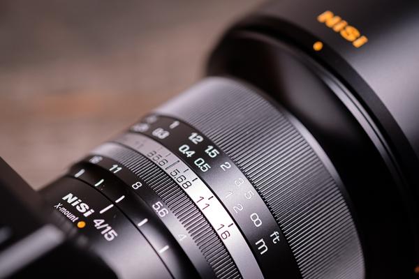 NISI 15 mm Objektiv für Fuji X