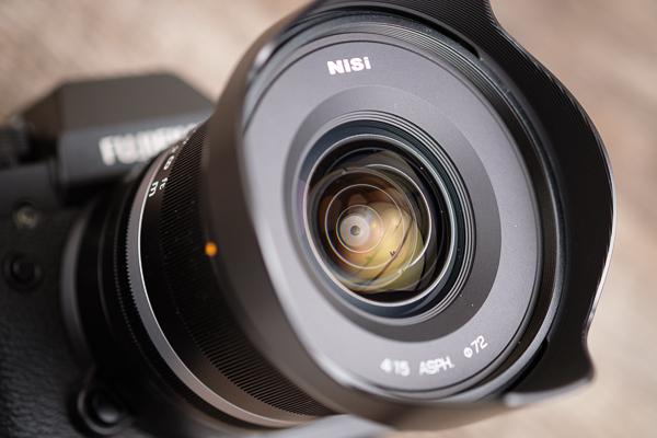 Frontlinse vom NISI 15 mm