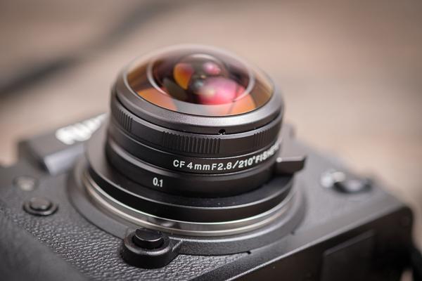 Laowa 4mm 2,8 Fisheye Objektiv für Fuji X