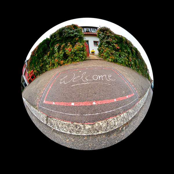 Welcome - mit Laowa 4mm Fisheye