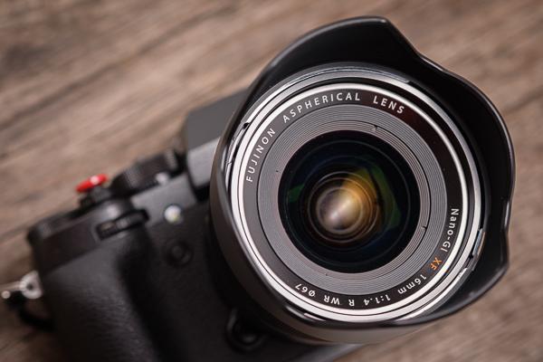 Fuji XF 16mm 1,4 R WR Weitwinkelobjektiv
