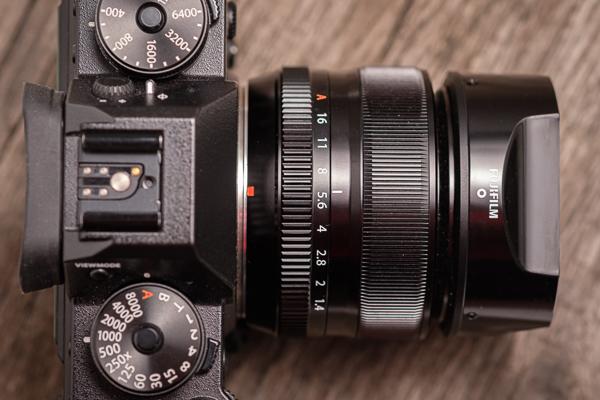 Fujifilm 35mm 1,4 Objektiv